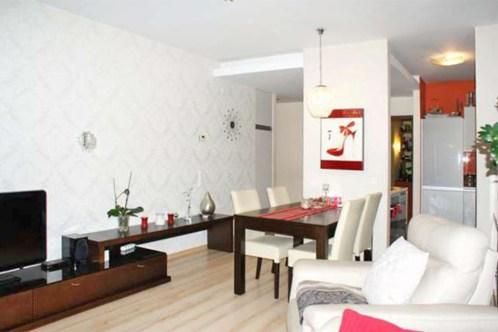 na zdjęciu luksusowy salon w ekskluzywnym apartamencie do wynajęcia w Szczecinie