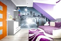 nowoczesny pokój w luksusowym apartamencie do sprzedaży w okolicy Legnicy