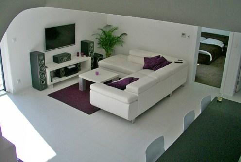 ekskluzywny salon w luksusowej willi do sprzedaży w okolicy Bielska-Białej