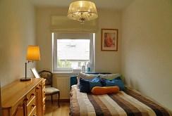 elegancka, komfortowa sypialnia w luksusowym apartamencie w Szczecinie na sprzedaż
