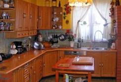 zdjęcie przedstawia komfortową kuchnię w ekskluzywnej willi w okolicach Katowic na sprzedaż