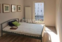 elegancka sypialnia w komfortowym apartamencie w Katowicach na wynajem