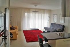 salon w ekskluzywnym apartamencie do wynajmu w Katowicach