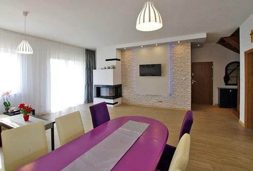 ekskluzywny salon w luksusowej willi do sprzedaży w okolicach Legnicy
