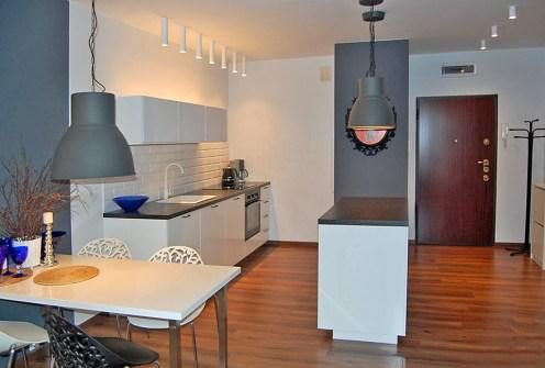 nowoczesne wnętrze ekskluzywnego apartamentu do sprzedaży w Łodzi
