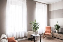 fragment luksusowego salonu w ekskluzywnym apartamencie do sprzedaży w Szczecinie