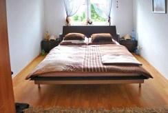 elegancka, intymna sypialnia w luksusowym apartamencie w Szczecinie na wynajem