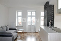 fragment komfortowego wnętrza luksusowego apartamentu do wynajmu w Tczewie