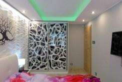 elegancka sypialnia w luksusowym apartamencie do wynajmu w Kwidzynie