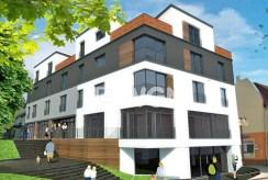 apartamentowiec w Kwidzynie, w którym znajduje się luksusowy apartament na sprzedaż