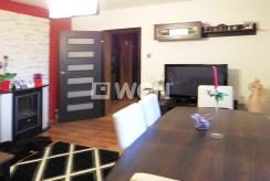 zdjęcie salonu w ekskluzywnym apartamencie do sprzedaży w Częstochowie