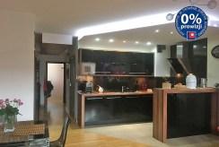 nowoczesna kuchnia w luksusowym apartamencie w Krakowie na sprzedaż