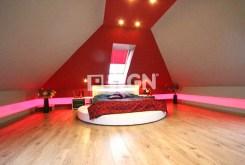 nowoczesna, stylowa sypialnia w luksusowej willi w okolicach Szczecina na wynajem
