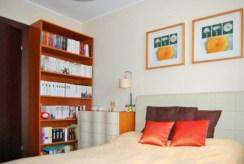 widok na sypialnię w luksusowym apartamencie do sprzedaży w Gdyni