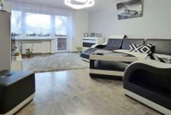 widok na salon w luksusowym apartamencie do sprzedaży w okolicach Katowic