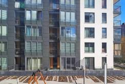 widok na apartamentowiec w Krakowie, w którym znajduje się oferowany do wynajmu ekskluzywny apartament