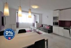 komfortowy salon w ekskluzywnym apartamencie do wynajmu w Krakowie
