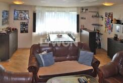 widok na elegancki salon w luksusowym apartamencie do sprzedaży w Katowicach