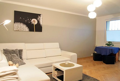 fragment prestiżowego salonu w ekskluzywnym apartamencie do sprzedaży w Szczecinie