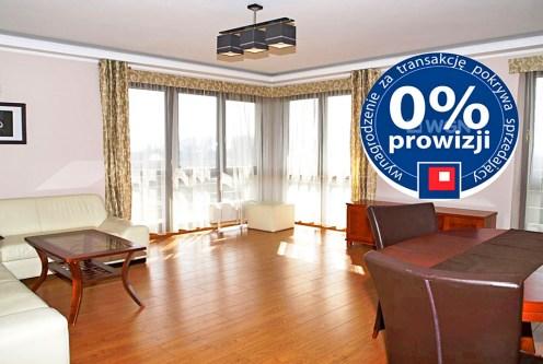 przestronny, komfortowy salon w ekskluzywnym apartamencie do sprzedaży w Szczecinie