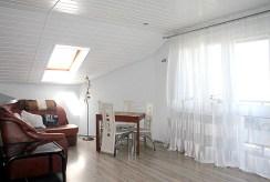 widok na luksusowy salon w ekskluzywnym apartamencie do sprzedaży w Tczewie