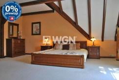 zaciszna, prywatna sypialnia w luksusowej willi w okolicach Katowic na sprzedaż