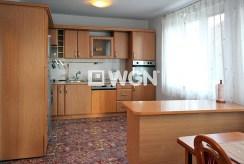 umeblowana i wyposażona kuchnia w luksusowej willi w okolicach Szczecina na wynajem
