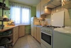 urządzona kuchnia w luksusowym apartamencie w Krakowie na sprzedaż