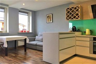 nowoczesne wnętrze ekskluzywnego apartamentu do wynajęcia w Krakowie