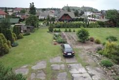 zadbana i zagospodarowana działka wokół luksusowej willi w okolicach Częstochowy na sprzedaż