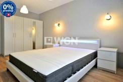 prywatna, zaciszna sypialnia w luksusowym apartamencie w Katowicach na wynajem