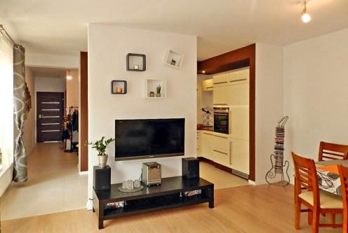bogato wyposażone i umeblowane wnętrze ekskluzywnego apartamentu do wynajęcia w Szczecinie
