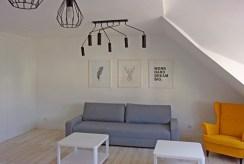 fragment salonu w luksusowym apartamencie do wynajmu w okolicach Legnicy