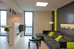 fragment prestiżowego salonu w ekskluzywnym apartamencie do wynajmu we Wrocławiu