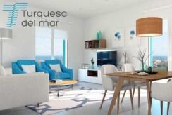 nowocześnie zaprojektowane wnętrze luksusowej willi do sprzedaży w Hiszpanii (Costa Blanca, Orihuela Costa)