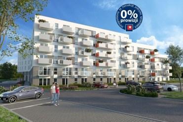 widok na osiedle w Krakowie, na którym znajduje się oferowany na sprzedaż ekskluzywny apartament do sprzedaży