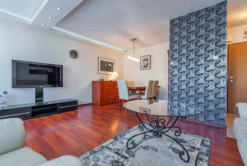 elegancki salon w luksusowym apartamencie do sprzedaży Piła