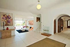 przestronne wnętrze w luksusowej willi do sprzedaży Costa del Sol, Malaga (Hiszpania)