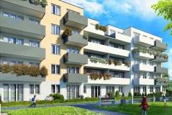 apartamentowiec w Krakowie, w którym mieści się oferowany na sprzedaż ekskluzywny apartament