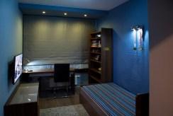 gustownie umeblowany i urządzony pokój dla dziecka w ekskluzywnym apartamencie do sprzedaży Szczecin
