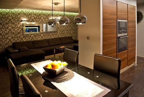 nowoczesne wnętrze ekskluzywnego apartamentu do sprzedaży Szczecin