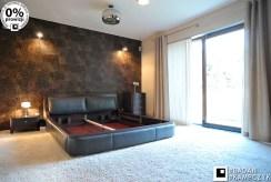 elegancka, prywatna sypialnia w willi na sprzedaż Katowice (okolice)