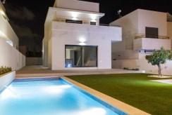 widok na osiedle i nasen przy luksusowym apartamencie na sprzedaż Hiszpania (Costa Blanca, Orihuela Costa)