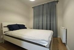 prywatna, elegancka sypialnia w luksusowym apartamencie na wynajem Kraków