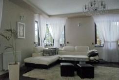 fragment komfortowego salonu w luksusowej willi na sprzedaż Grudziądz (okolice)