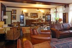 elegancki salon w luksusowej willi do sprzedaży Kwidzyn