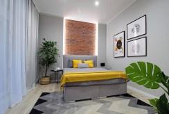 prywatna, zaciszna sypialnia w ekskluzywnym apartamencie na sprzedaż Kraków