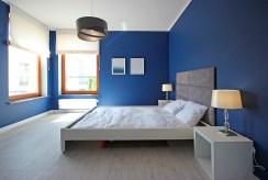 prywatna, zaciszna, elegancka sypialnia w luksusowym apartamencie na wynajem Szczecin