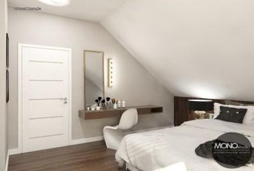 zaciszna, elegancka sypialnia w ekskluzywnej willi do sprzedaży Leszno (okolice)
