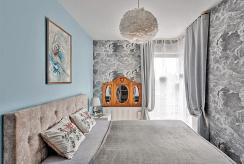 zaciszna, prywatna sypialnia w ekskluzywnym apartamencie na wynajem Szczecin (okolice)